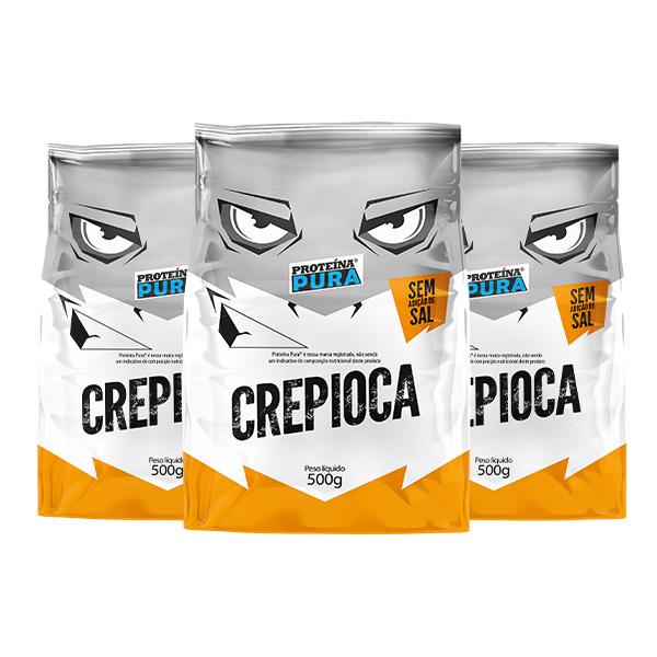 Kit Crepioca Gracyanne Barbosa - (3 un x 500g) - Proteína Pura