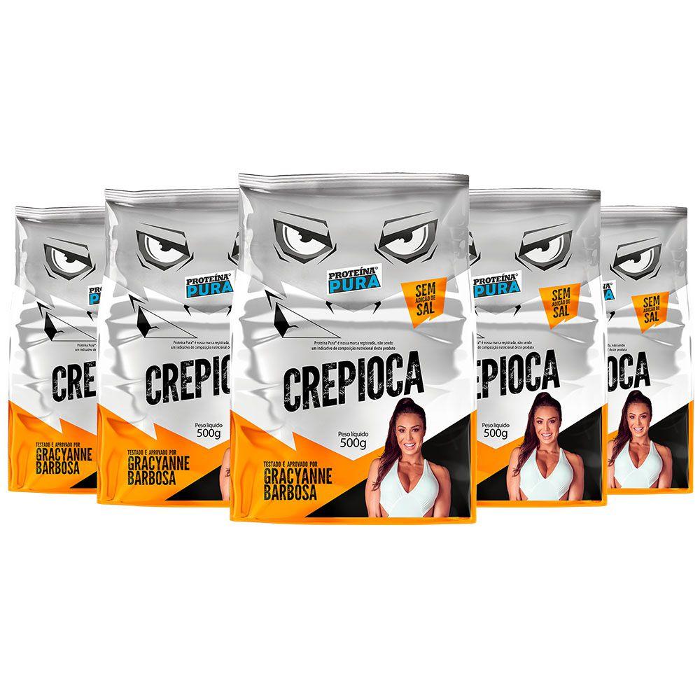 Kit Crepioca Gracyanne Barbosa - (5 un x 500g) - Proteína Pura