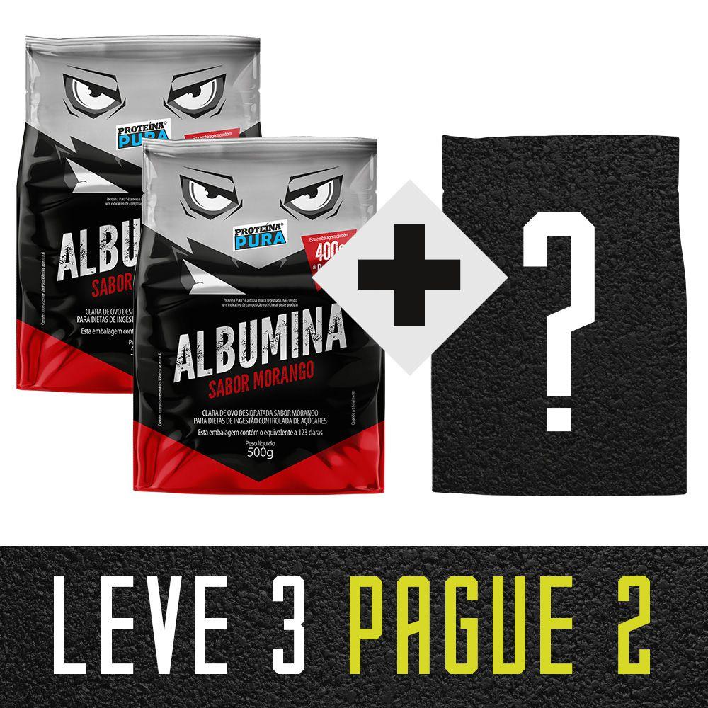 Leve 3 Pague 2 - 2 Morango + 1 Escolha Seu Sabor (3 un x 500g)