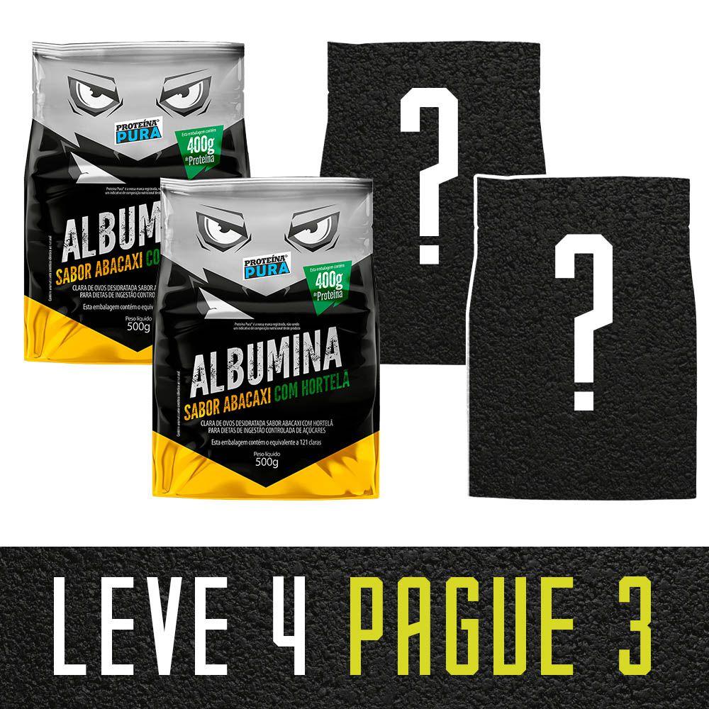 Leve 4 Pague 3 - 2  Abacaxi com Hortelã + 2 Escolha Seu Sabor