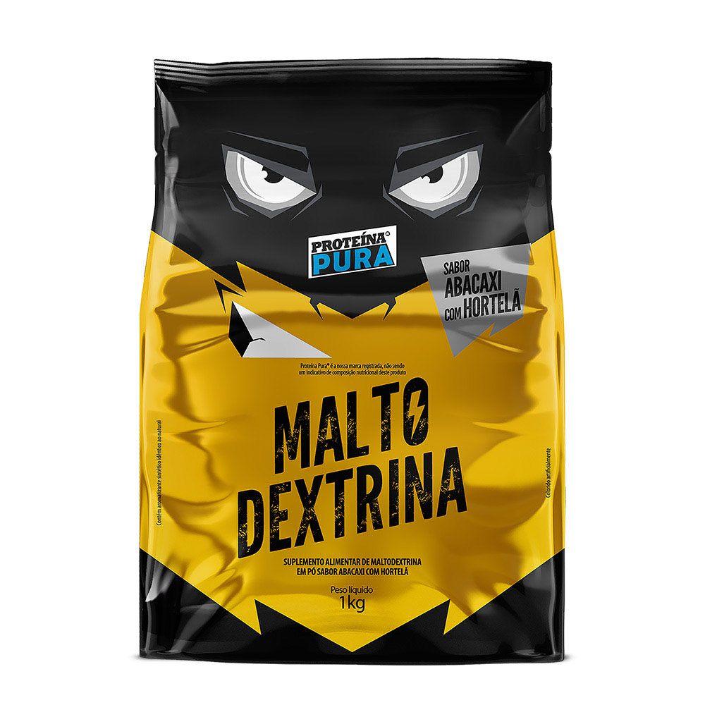 Maltodextrina - 1kg - Sabor Abacaxi com Hortelã - Proteína Pura