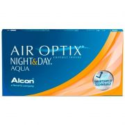 Lentes De Contato Air Optix Aqua Night Day Para Miopia Hipermetropia Descarte Mensal