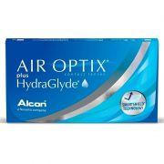 Lentes de Contato Air Optix Plus Hydraglyde Miopia Hipermetropia Mensal Alcon