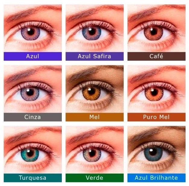 7595234d45bda FreshLook Colorblends Lentes de Contato Colorida Sem Grau - SoftLens ...