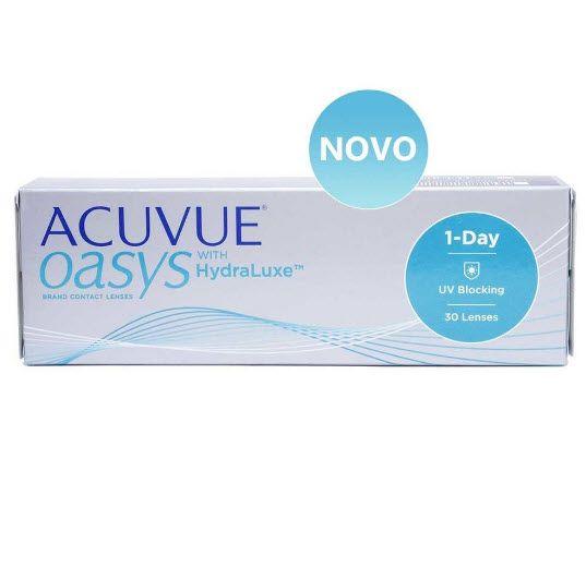 Lente de Contato Acuvue Oasys 1 Day   SoftLens 3aeba3b207