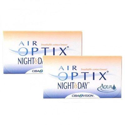 cfee1d2fbdf62 ... Lentes de Contato Air Optix Night Day Aqua Para Miopia Hipermetropia -  SoftLens