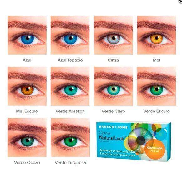 91ac731ded29a Lente de Contato Optima® Natural Look - SoftLens ...