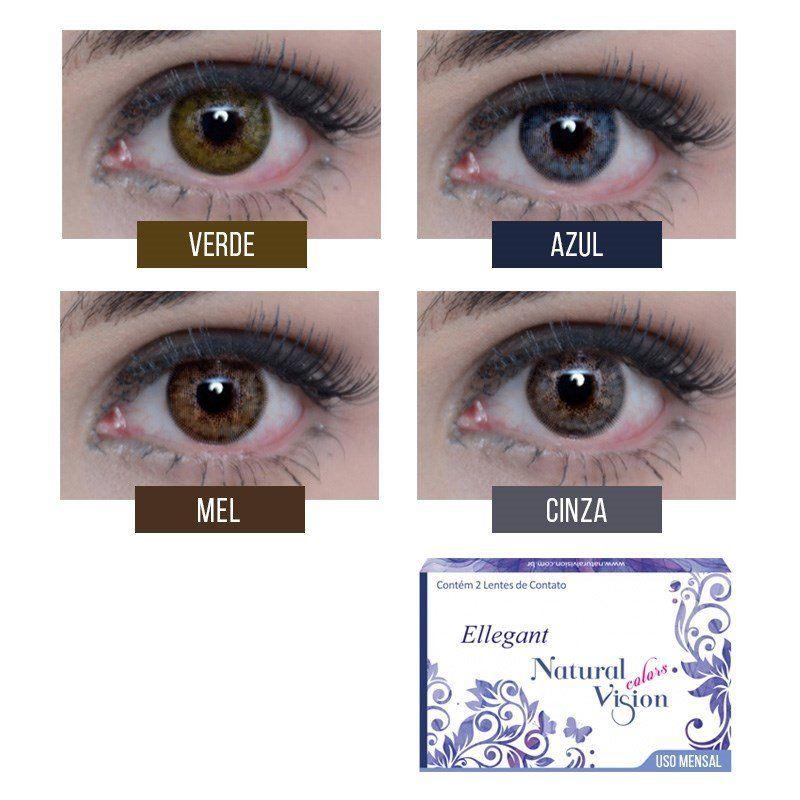 12ed17da95 ... Lentes de Contato Coloridas Natural Vision Mensal Sem Grau - SoftLens  ...