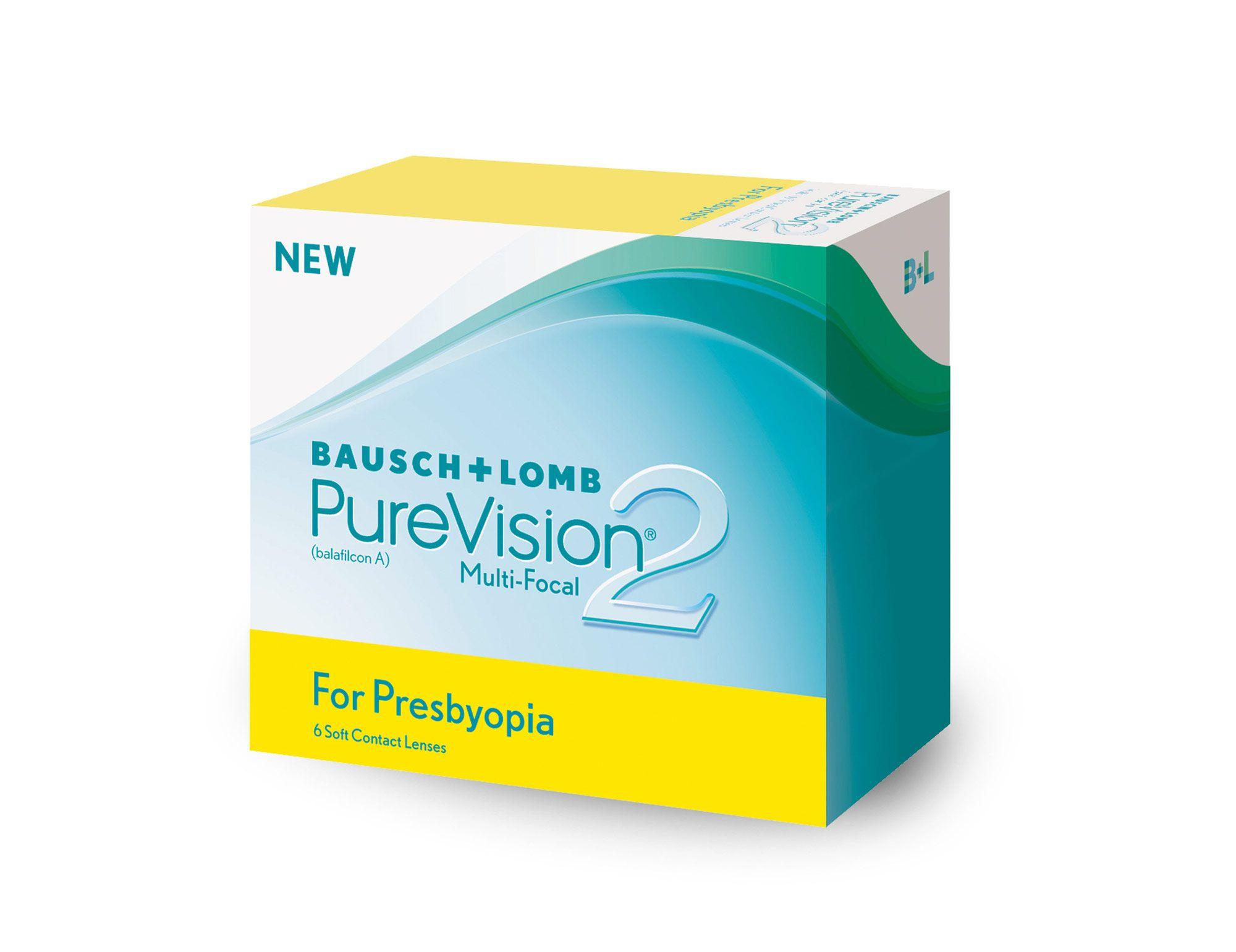 88f4a2a5903de Lentes de Contato PureVision 2 Multifocal Presbiopia - SoftLens