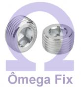 Bujão DIN 906 INOX 1/8X3/4 BSPT (Embalagem 10 peças)