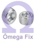 Bujão DIN 906 INOX 3/4X3/4 BSPT (Embalagem 5 peças)