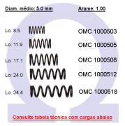 Mola compressão OMC 10005XX (Embalagem 10 peças)