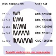Mola compressão OMC 12505XX (Embalagem 5 peças)