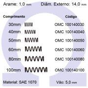 Mola de Compressão OMC 100140XXX (Embalagem 10 peças)
