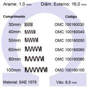 Mola de Compressão OMC 100160XXX (Embalagem 10 peças)