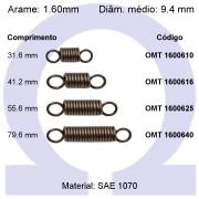 Mola de tração OMT 16006XX (Embalagem 10 peças)