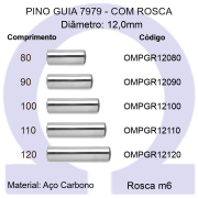 Pino Guia 7979 OMPGR 12080/90/100/110/120 (Emb.20 peças)