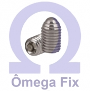 Posicionador Om615.3 m10x23 com Mola e Esfera INOX - Chave Allen (Embalagem 10 peças)