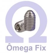 Posicionador Om615.3 m 6X15 com Mola e Esfera INOX - Chave Allen (Embalagem 10 peças)