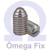 Posicionador Om615 m 5x12 INOX (Embalagem 10 peças)