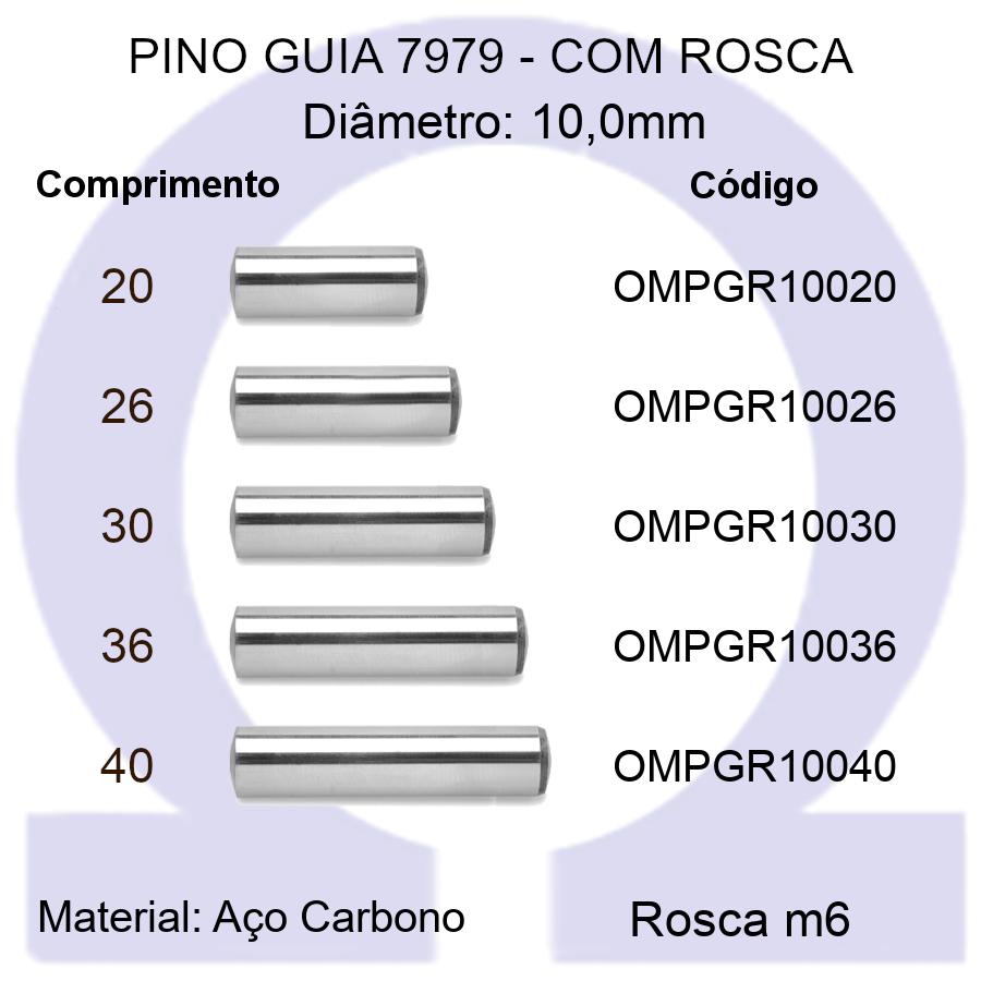 Pino Guia 7979 OMPGR 10020/26/30/36/40 (Emb.30 peças)