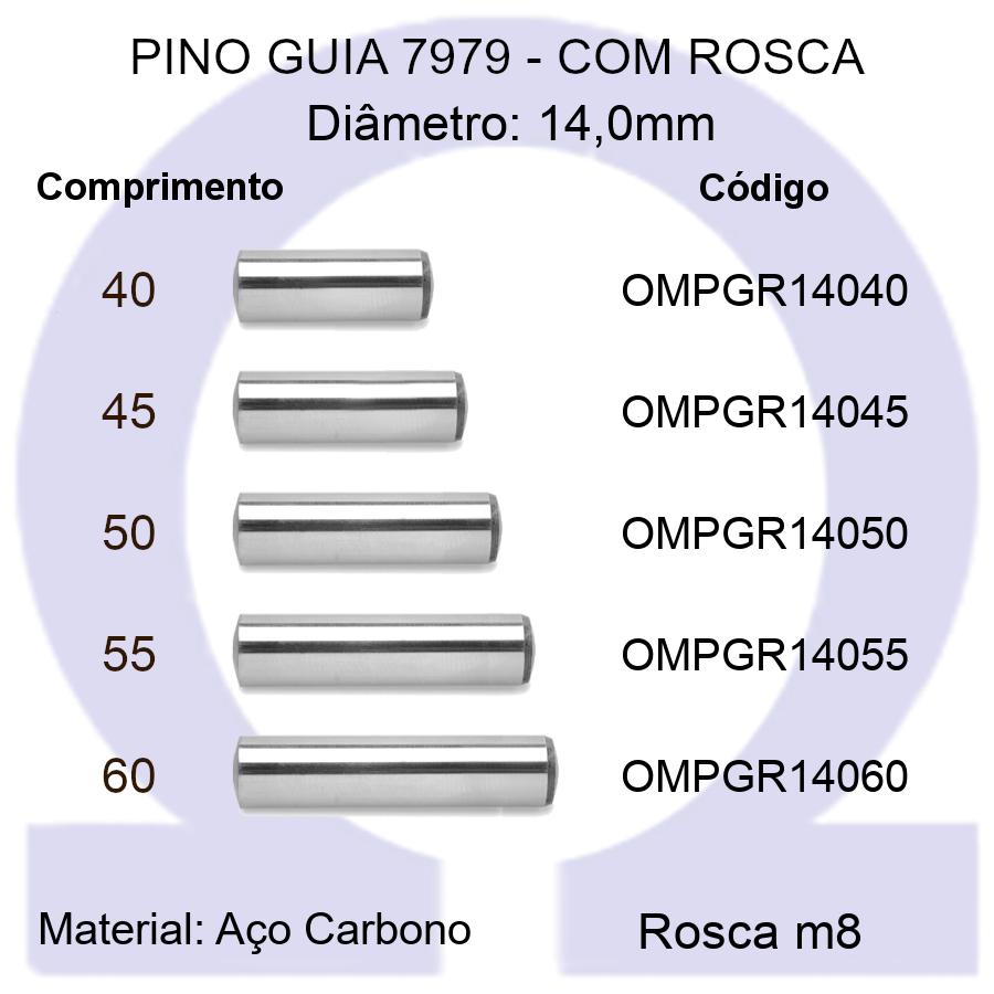 Pino Guia 7979 OMPGR 14040/45/50/55/60 (Emb.20 peças)