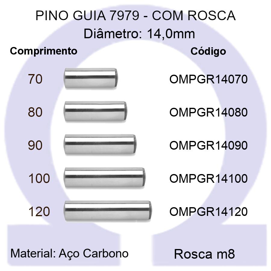Pino Guia 7979 OMPGR 14070/80/90/100/120 (Emb.20 peças)