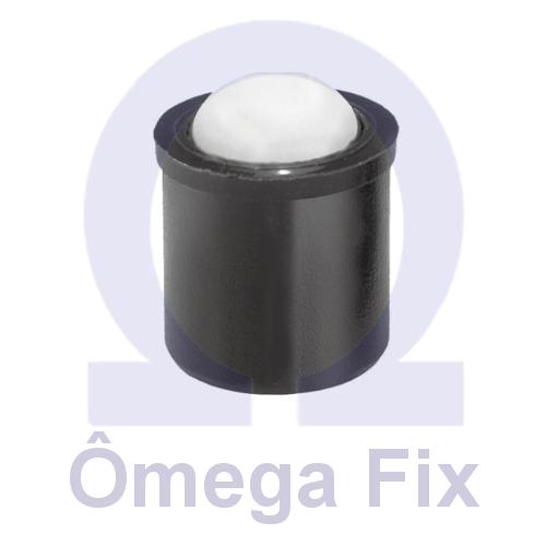 Posicionador Om614 m10 - Aço Carbono Zincado  (Embalagem10 Peças)