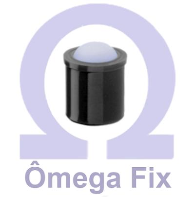 Posicionador Om614 m12x16 - com Mola e Esfera versão lisa (Embalagem 10 Peças)