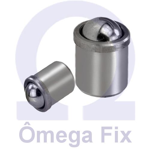 Posicionador Om614 m 8 - INOX  (Embalagemcom10 Peças)
