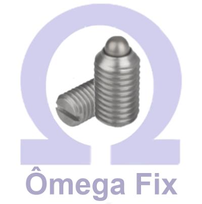 Posicionador OM615.1 M 8X15 (Embalagem 10 peças)