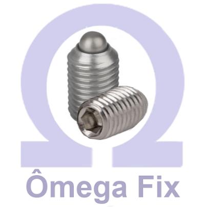 Posicionador OM615.4 M12X26 INOX (Embalagem 10 peças)