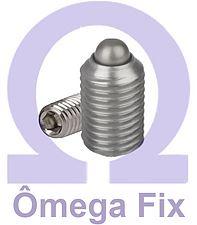 Posicionador OM615.4 M 6x15 INOX (Embalagem 10 peças)