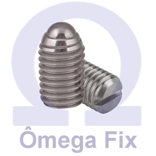 Posicionador Om615 m 6x14 INOX  (Embalagem 10 peças)