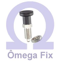 Posicionador Om617 m 10x1,0 INOX (Embalagem 5 peças)