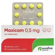 Anti- inflamatório Maxicam 0,5 mg- Cartela c/ 10 Comprimidos