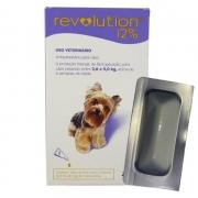 Anti Pulgas e Carrapatos Revolution Cães de 2,6kg a 5,0kg- 1 Pipeta