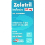 Antibacteriano Zelotril c/ 12 Comprimidos