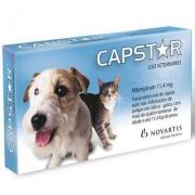 Antipulgas Capstar para Cães e Gatos até 11kg- 6 Comprimidos