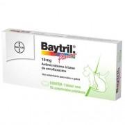 Antibiótico Baytril Flavour- 10 Comprimidos
