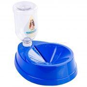 Bebedouro para Pelos Longos Four Plastic Azul