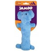 Mordedor Pelúcia Plush Elefante Azul