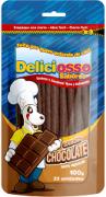 Ossinho Deliciosso Palito Fino sabor Chocolate 100gr