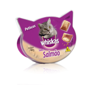 Petisco Whiskas Temptations Salmão 40g