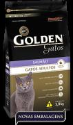 Ração Golden Gatos Adultos Salmão