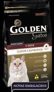 Ração Golden Gatos Castrados Carne