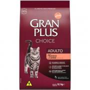 Ração Gran Plus Gatos Adultos Choice Frango e Carne 10,1kg