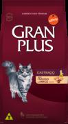 Ração Gran Plus Gatos Castrados Frango