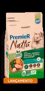 Ração Premier Nattu Cães Adultos Raças Pequenas Abóbora