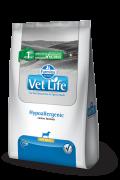 Ração Vet Life Cães Hypoallergenic para Cães PORTE MINI  2 kg